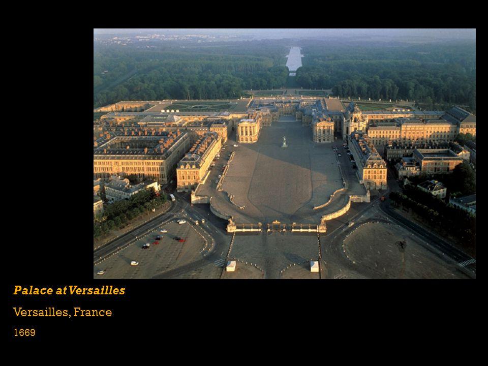 Palace at Versailles Versailles, France 1669