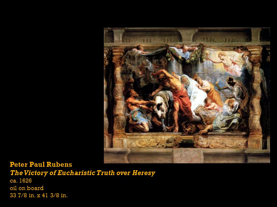 The Victory of Eucharistic Truth over Heresy