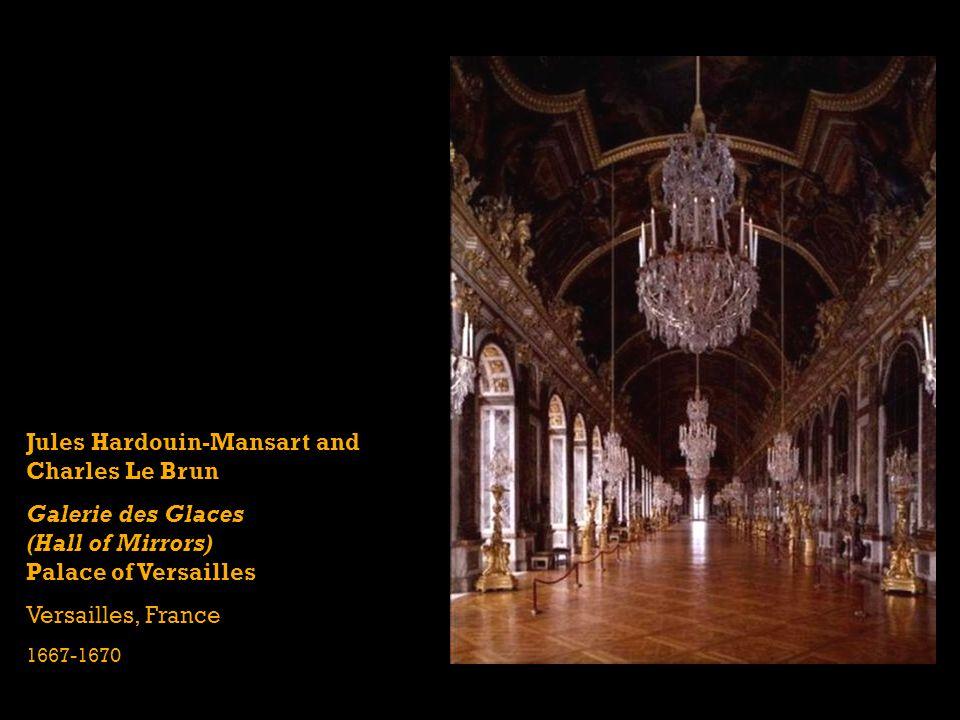 Jules Hardouin-Mansart and Charles Le Brun