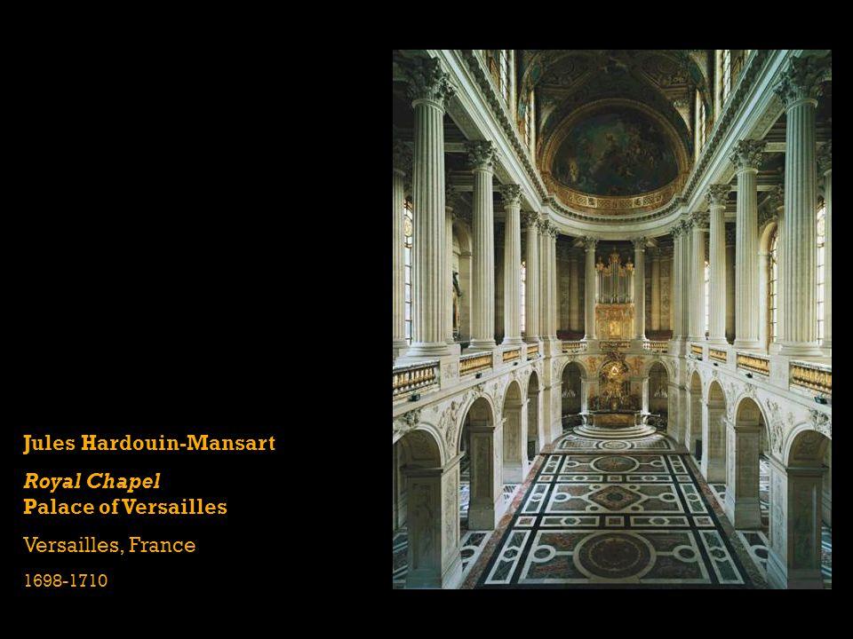 Jules Hardouin-Mansart Royal Chapel Palace of Versailles