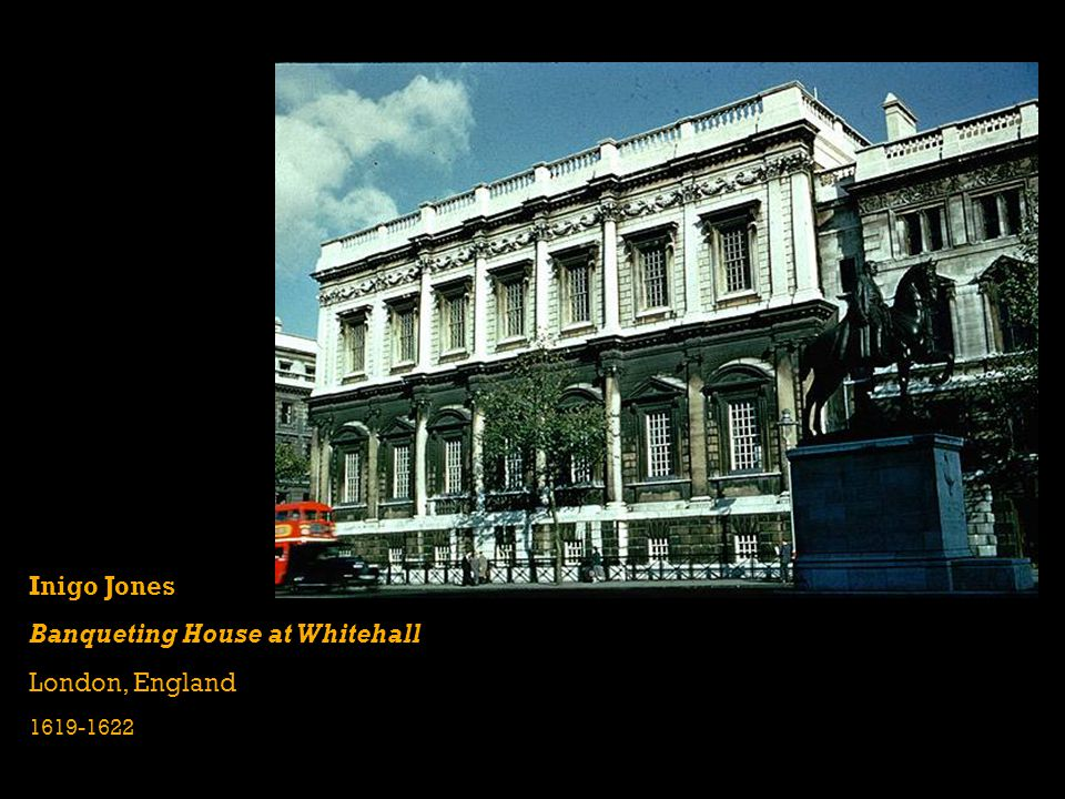 Banqueting House at Whitehall London, England