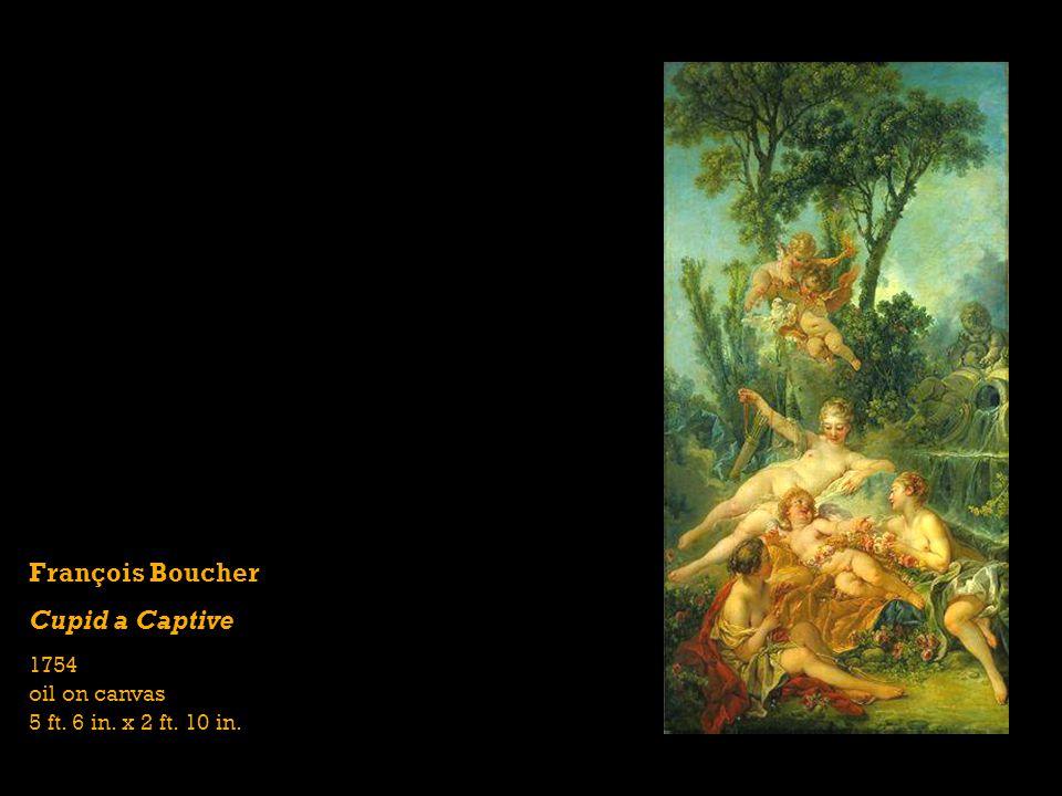 François Boucher Cupid a Captive