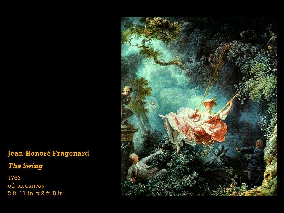 Jean-Honoré Fragonard The Swing