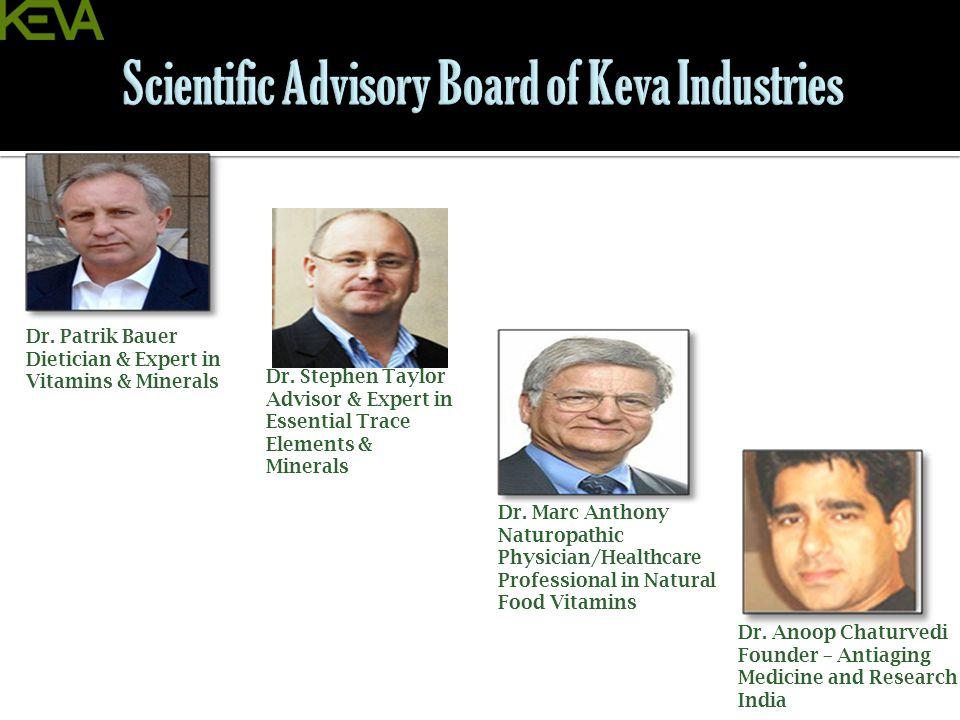 Scientific Advisory Board of Keva Industries