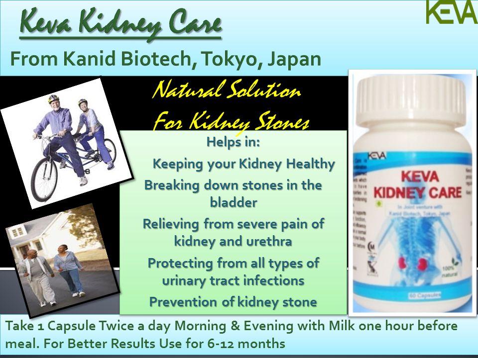 Keva Kidney Care From Kanid Biotech, Tokyo, Japan