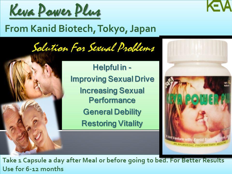 Keva Power Plus From Kanid Biotech, Tokyo, Japan
