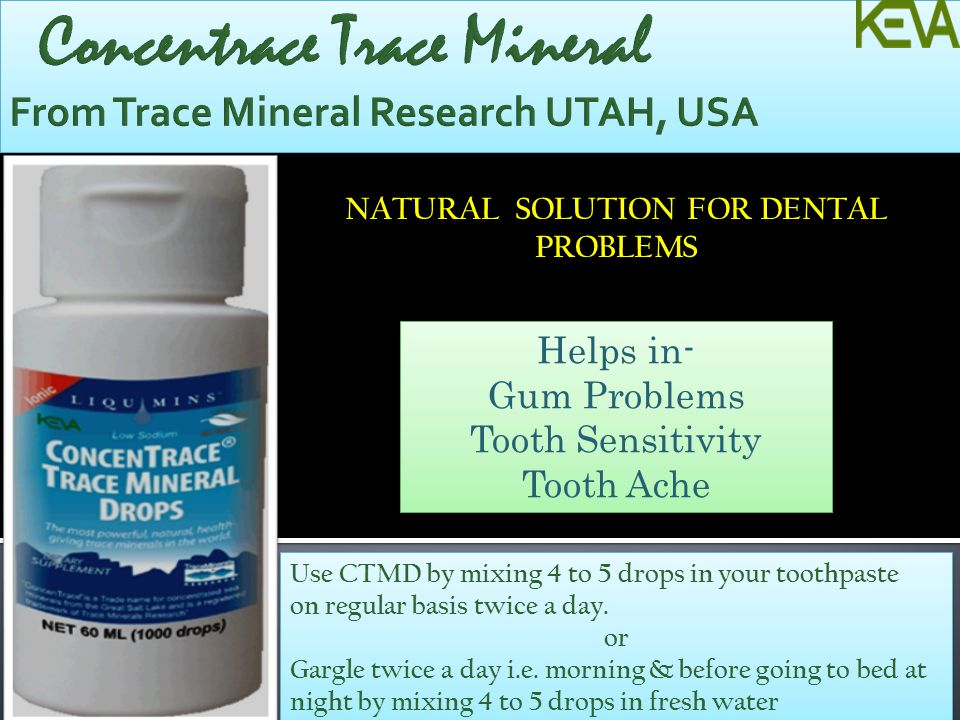 Concentrace Trace Mineral From Trace Mineral Research UTAH, USA