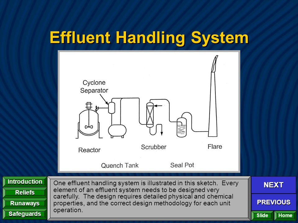 Effluent Handling System