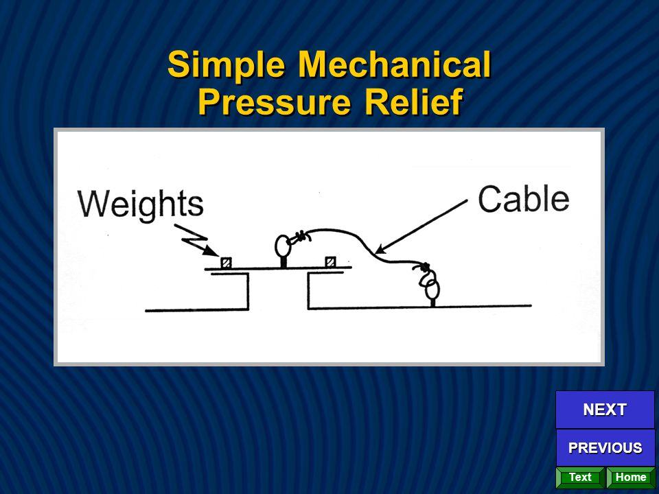 Simple Mechanical Pressure Relief