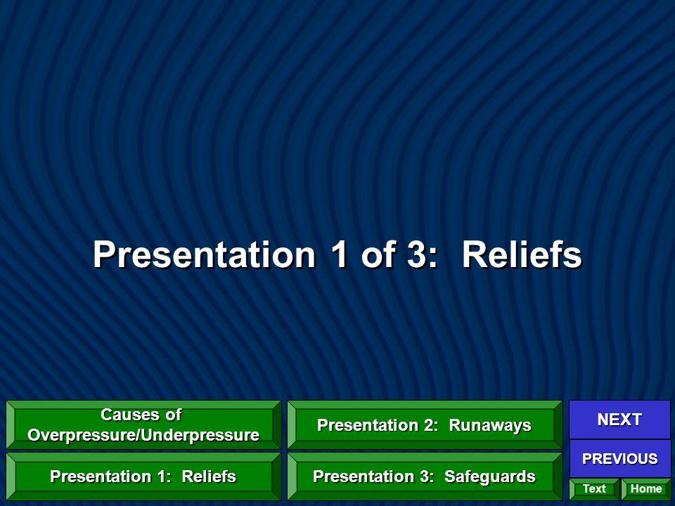 Presentation 1 of 3: Reliefs