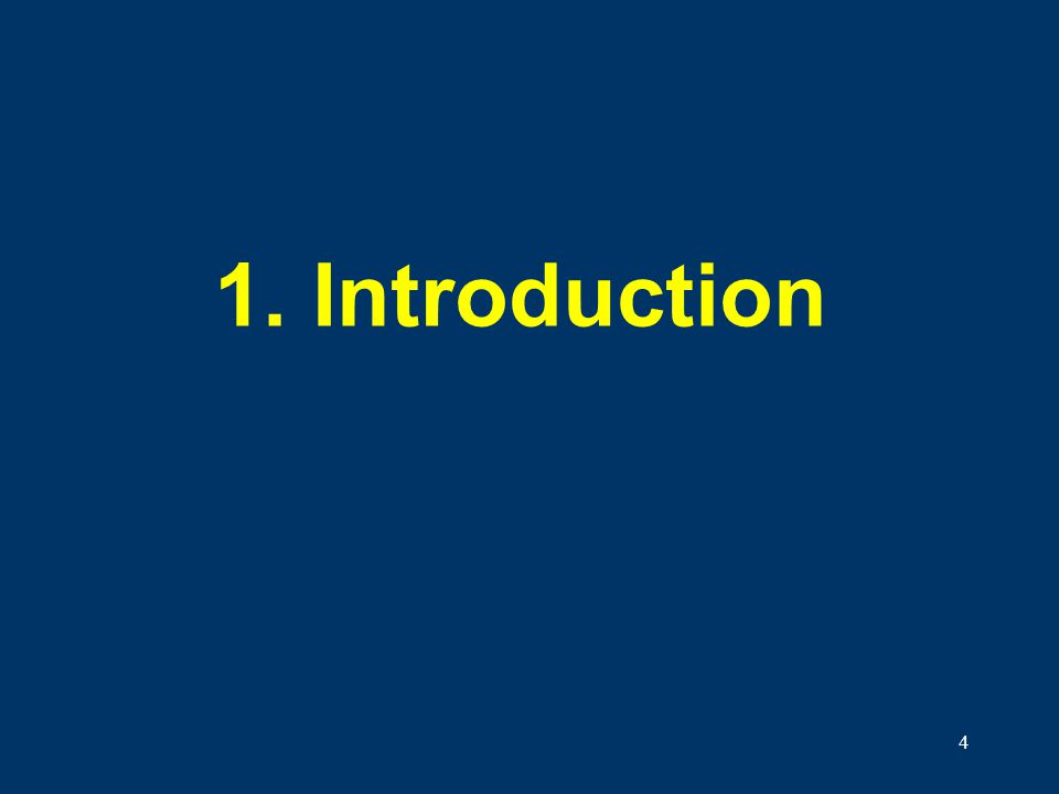 1. Introduction Welcome to the Introduction to the GHS!