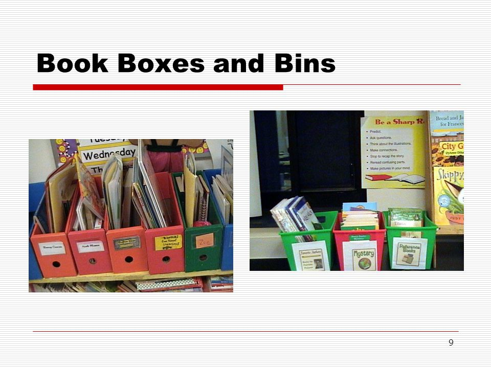 Book Boxes and Bins