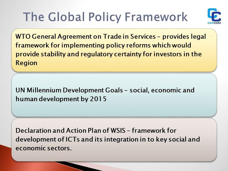 The Global Policy Framework