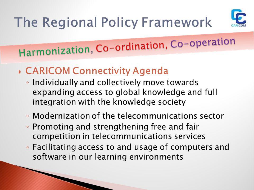The Regional Policy Framework