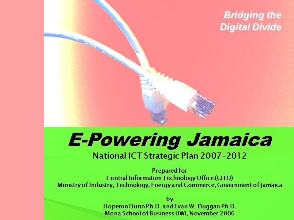 E-Powering Jamaica Bridging the Digital Divide
