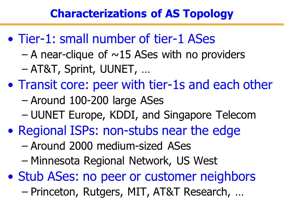 Characterizations of AS Topology