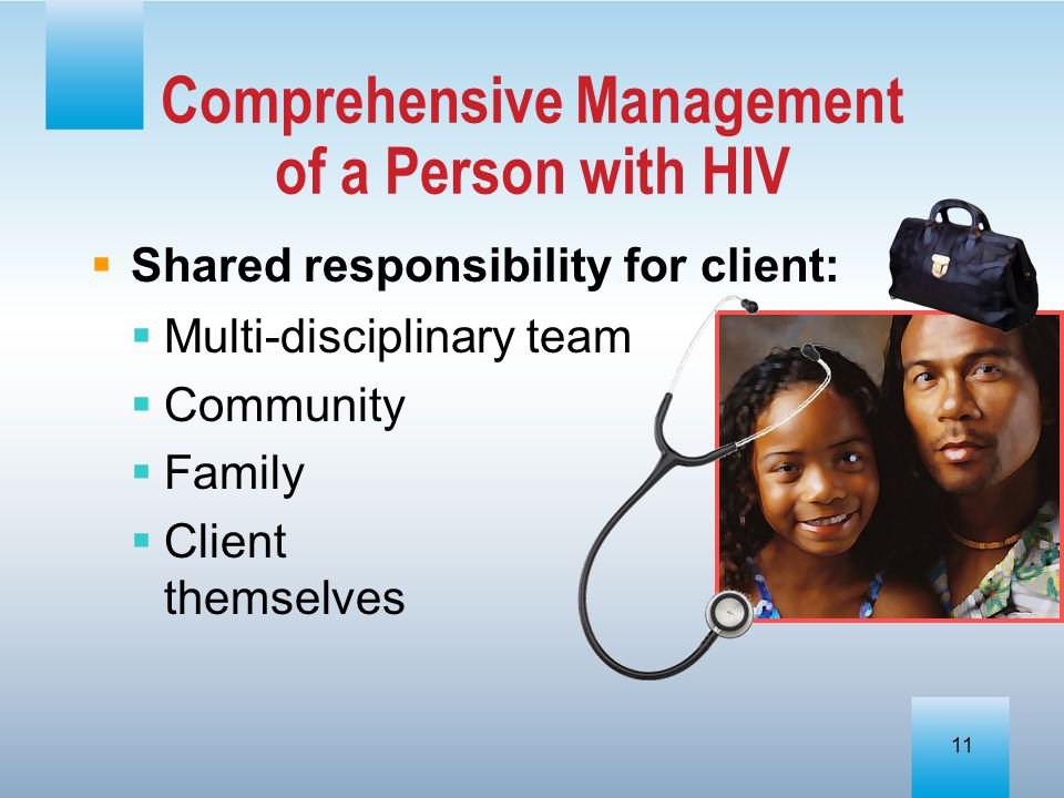 Comprehensive Management of a Person with HIV