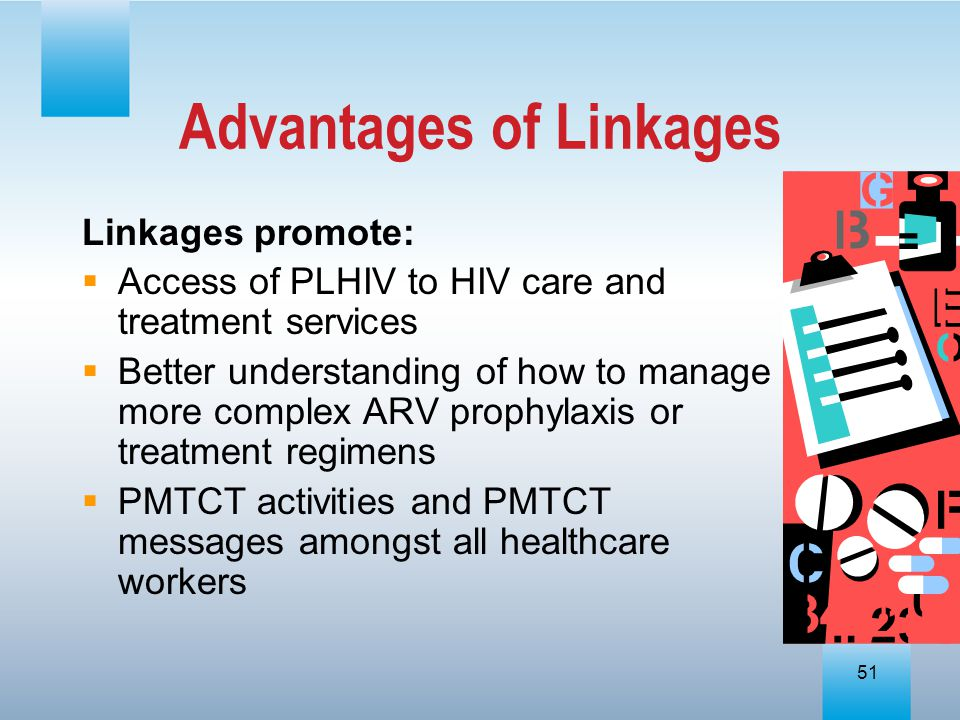 Advantages of Linkages
