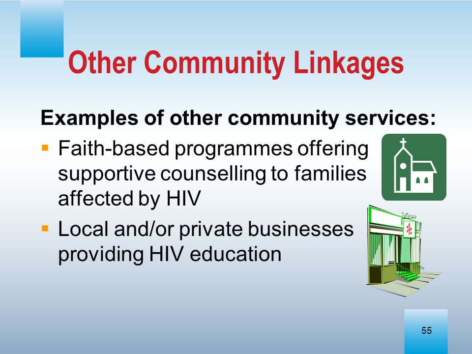 Other Community Linkages