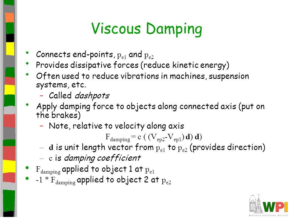 Fdamping = c ( (Vep2-Vep1) d) d)