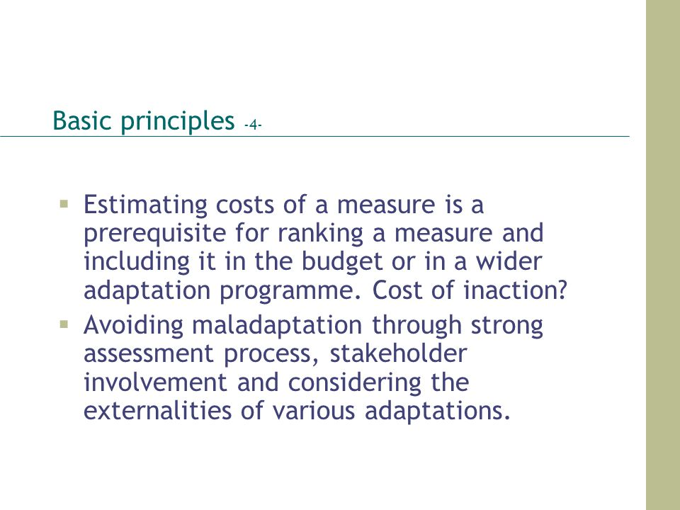 Basic principles -4-