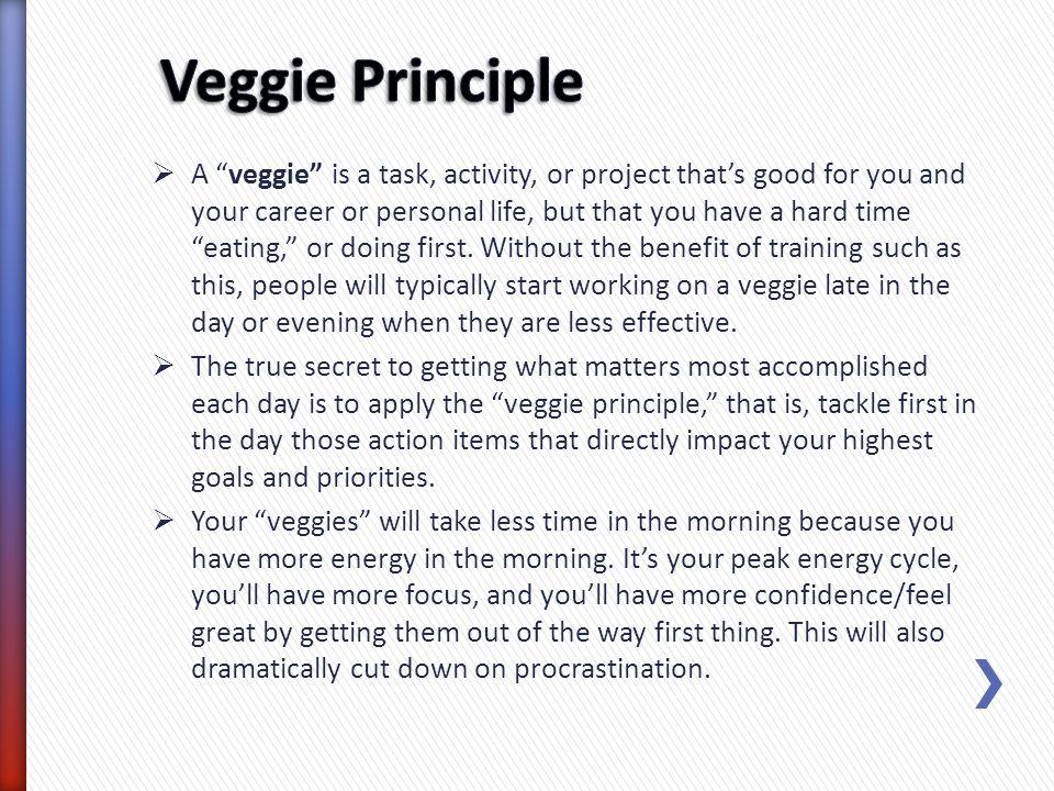 Veggie Principle