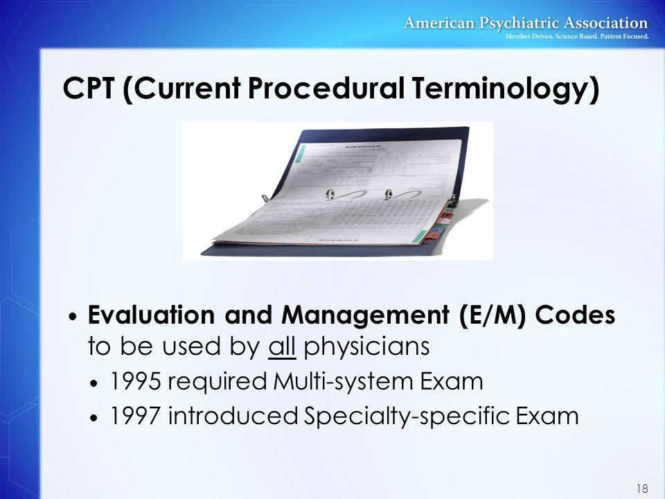 CPT (Current Procedural Terminology)