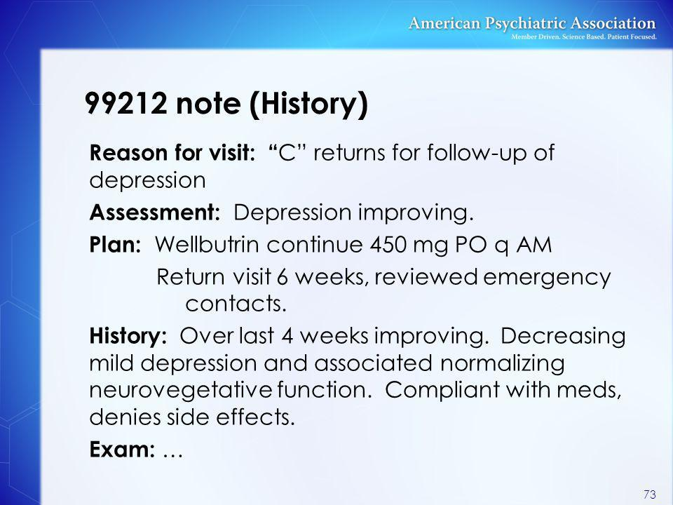 99212 note (History)