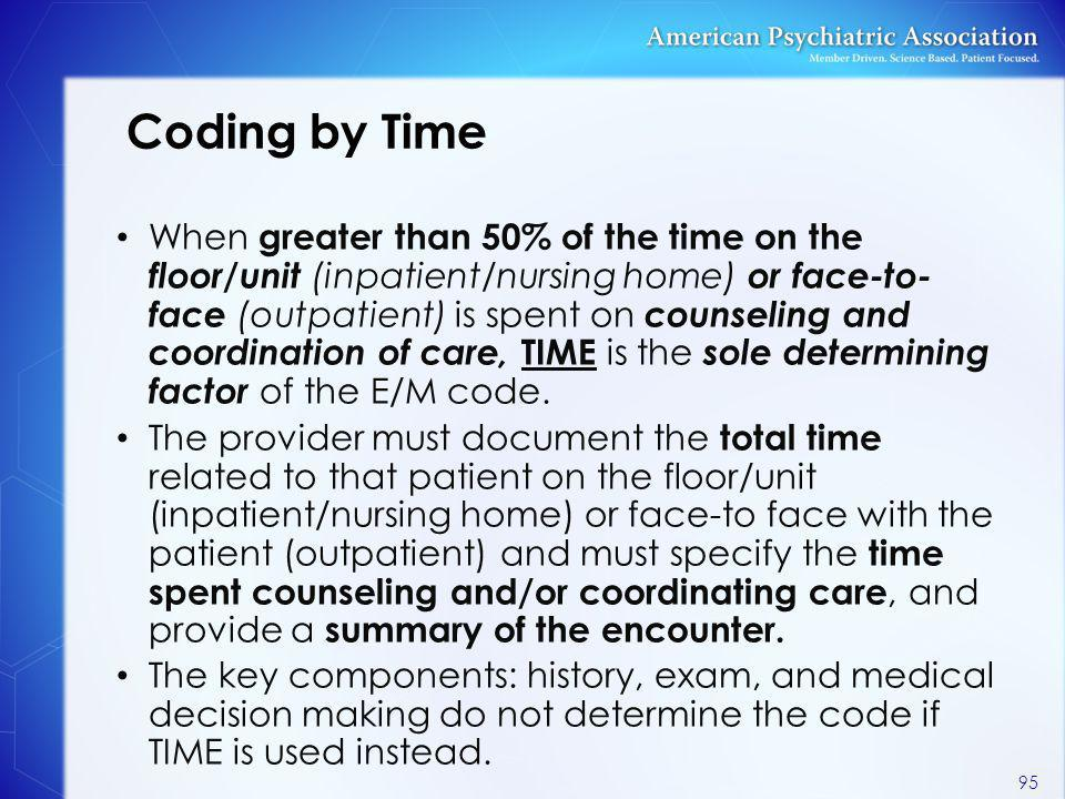 Coding by Time