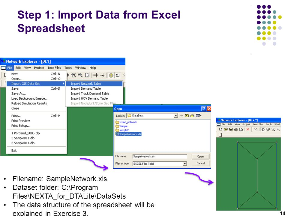 Step 1: Import Data from Excel Spreadsheet
