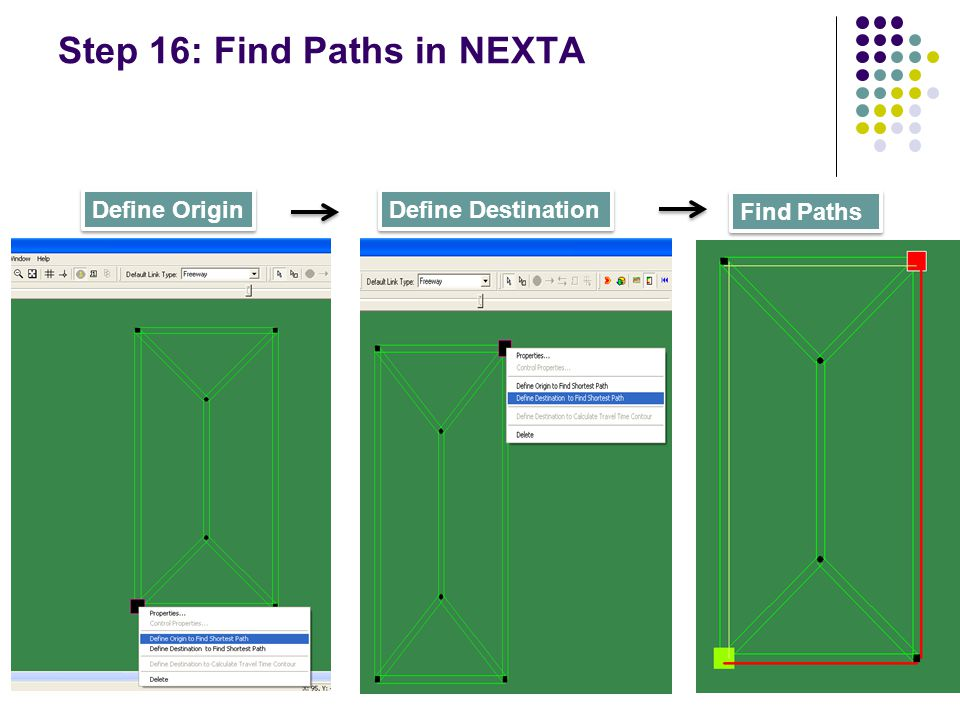 Step 16: Find Paths in NEXTA