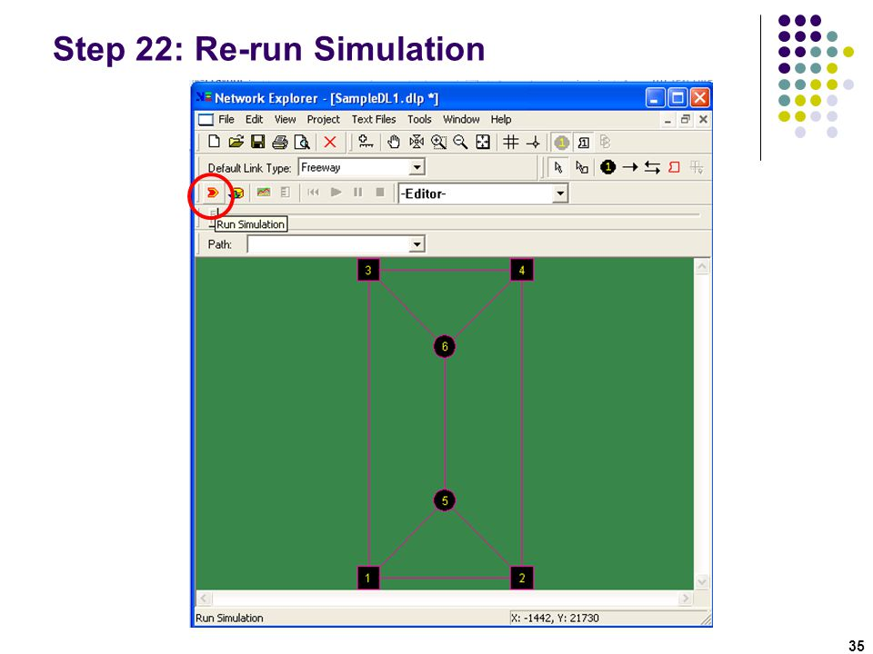 Step 22: Re-run Simulation
