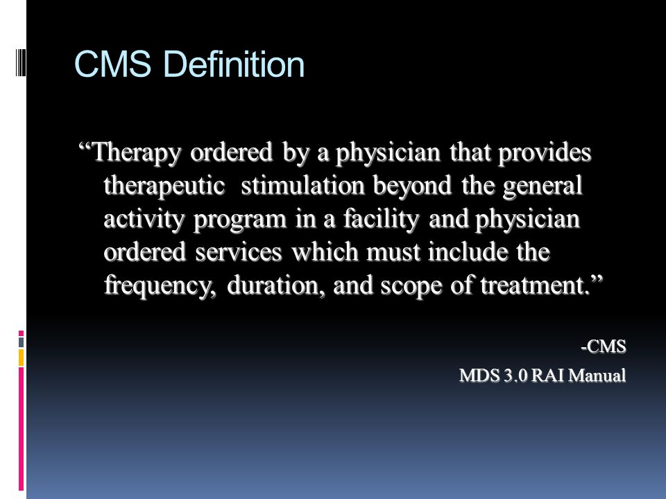 CMS Definition