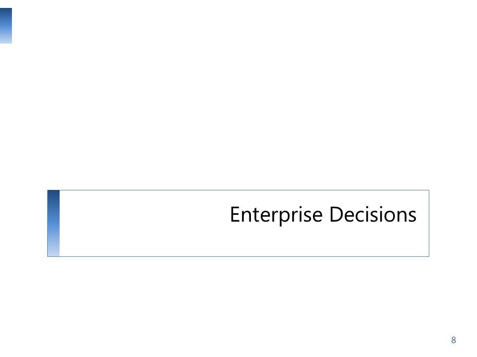 Enterprise Decisions