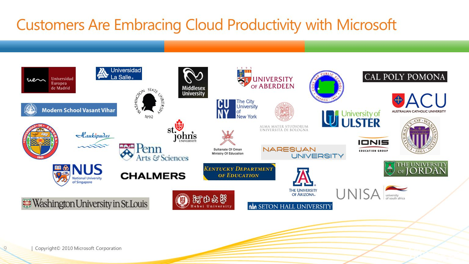 Customers Are Embracing Cloud Productivity with Microsoft