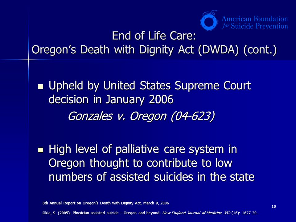 Death with Dignity Act