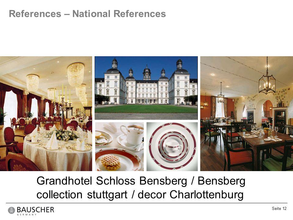 Grandhotel Schloss Bensberg / Bensberg