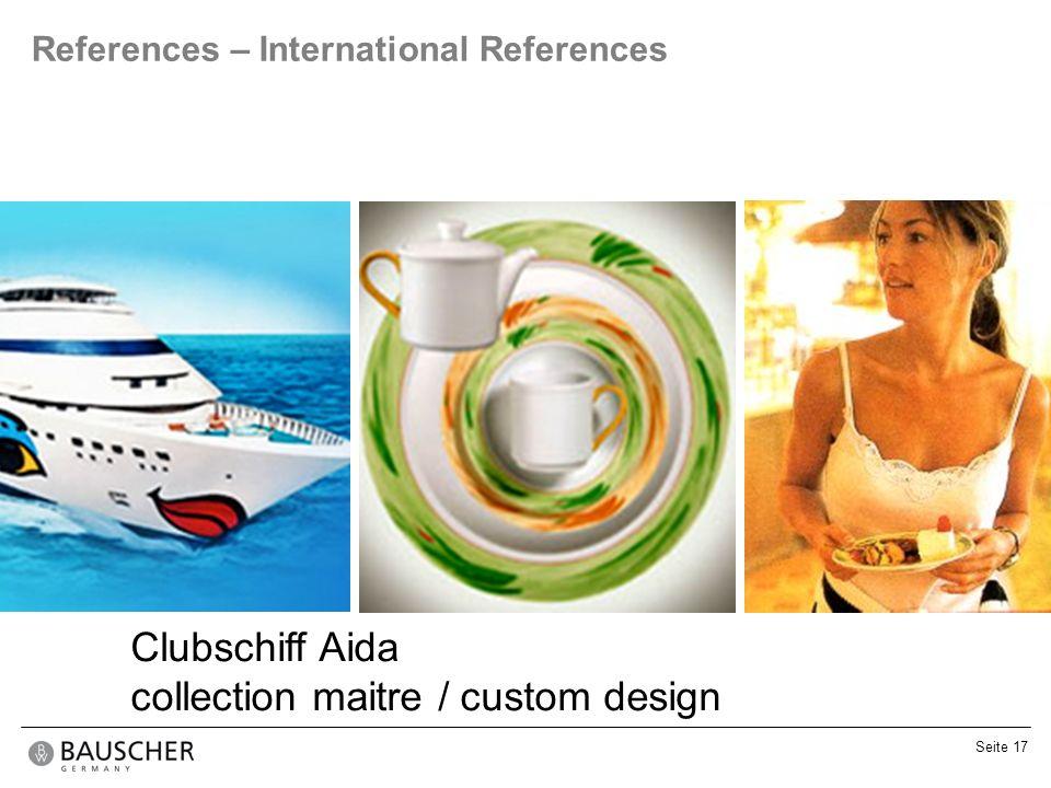 collection maitre / custom design