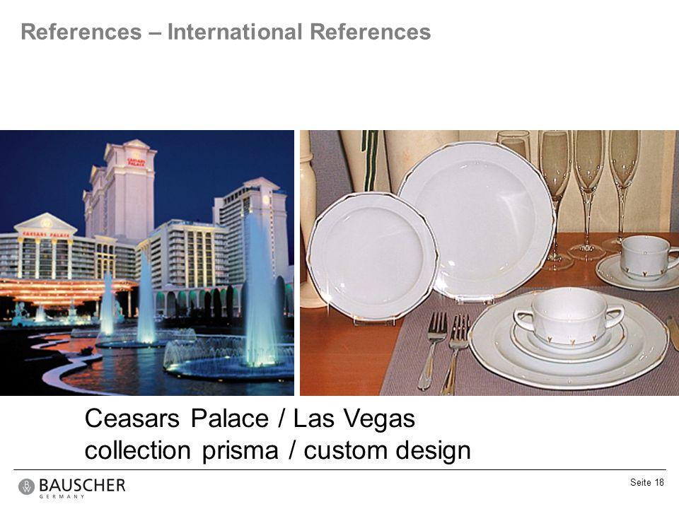 Ceasars Palace / Las Vegas collection prisma / custom design
