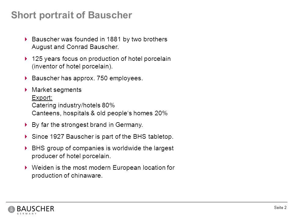Short portrait of Bauscher