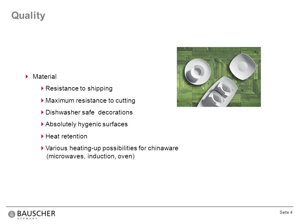 Quality Material Resistance to shipping Maximum resistance to cutting