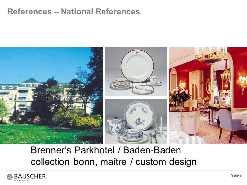 Brenner's Parkhotel / Baden-Baden