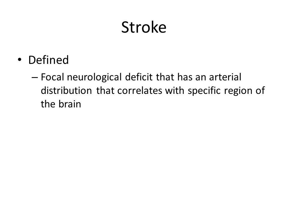 Stroke Defined.