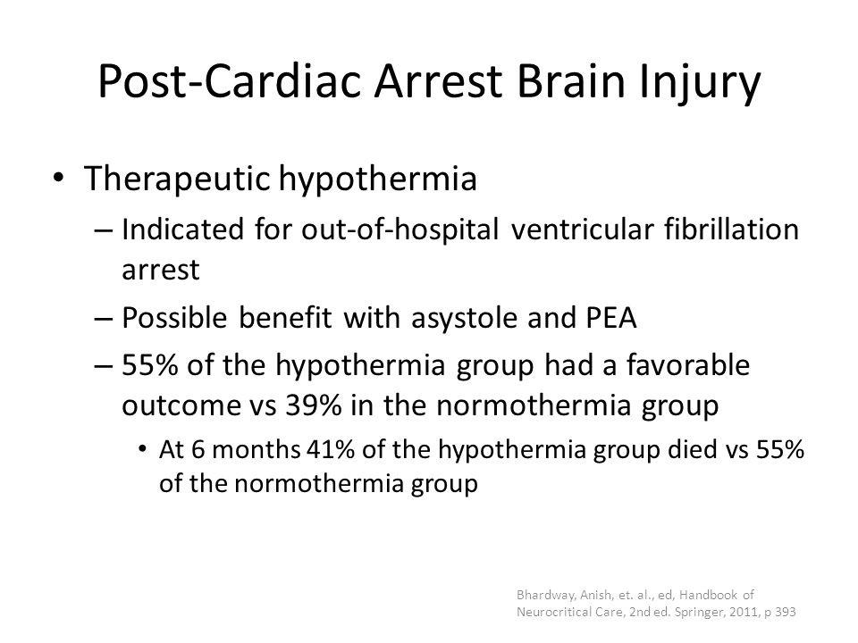 Post-Cardiac Arrest Brain Injury