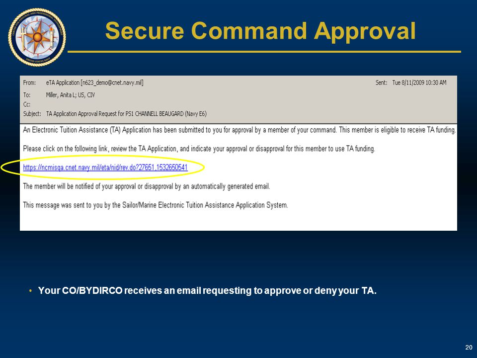 Secure Command Approval