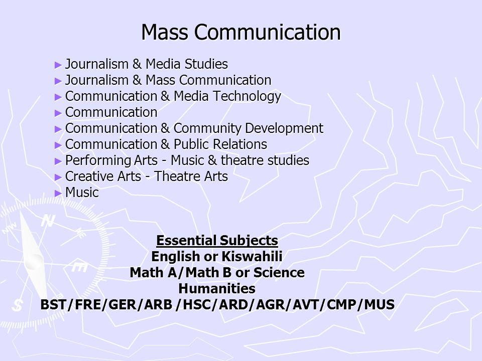 Math A/Math B or Science BST/FRE/GER/ARB /HSC/ARD/AGR/AVT/CMP/MUS