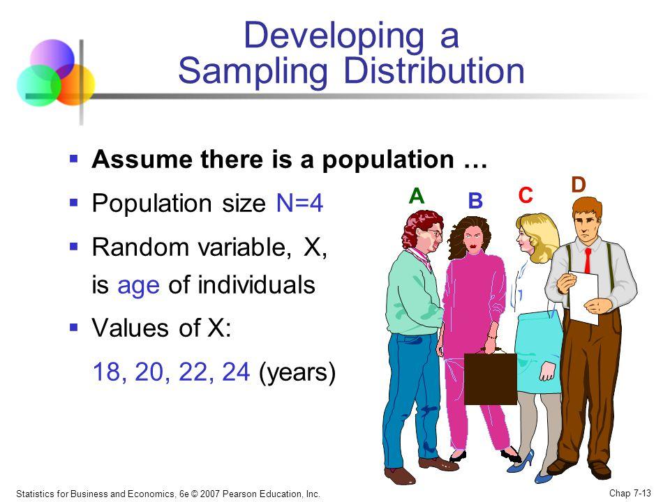 Developing a Sampling Distribution