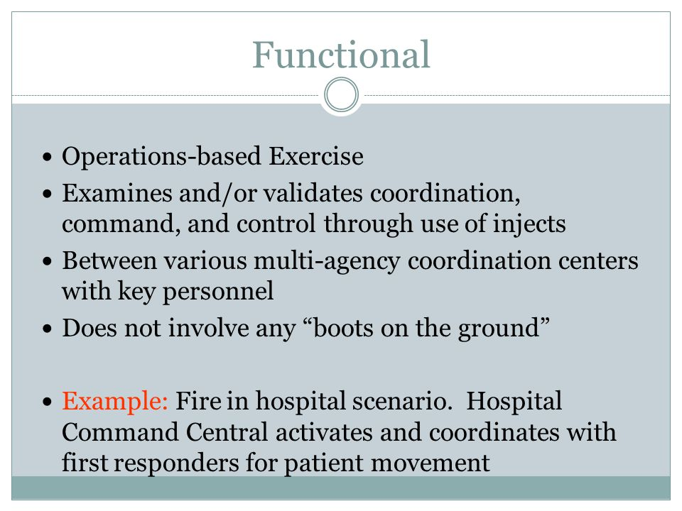 Functional Operations-based Exercise