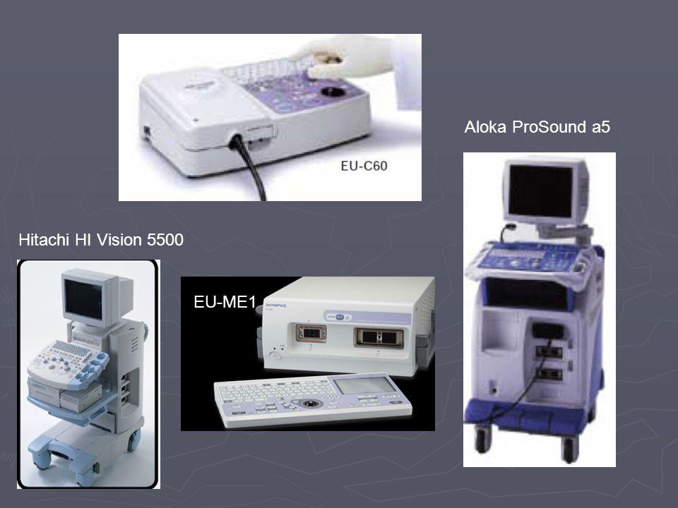 Aloka ProSound a5 Hitachi HI Vision 5500 EU-ME1