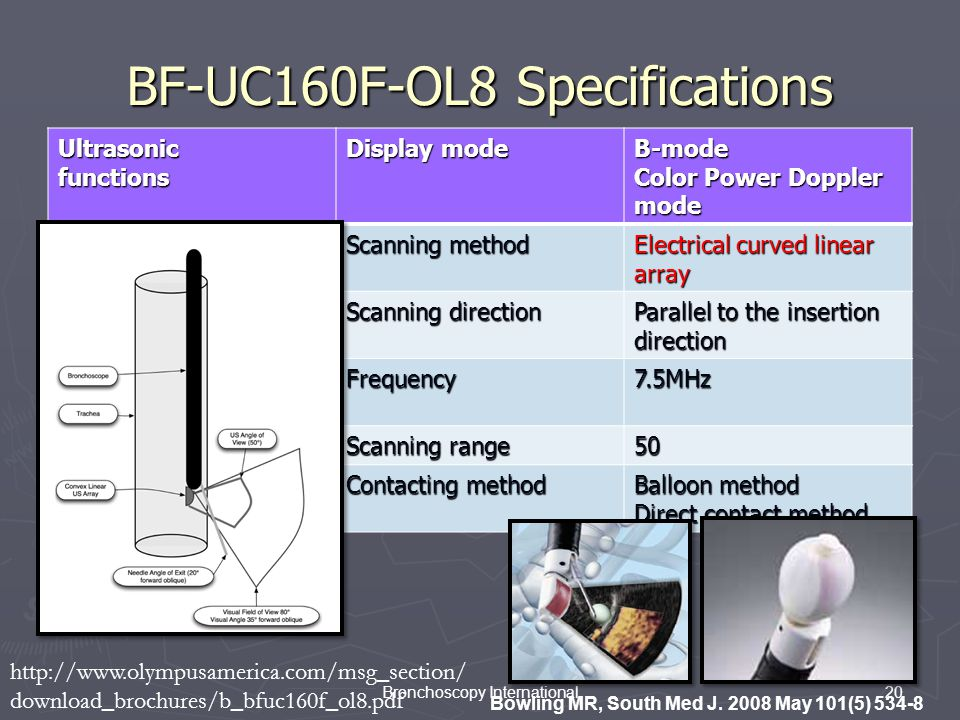 BF-UC160F-OL8 Specifications